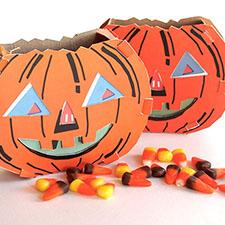 DIY Paper pumpkin - mypapercrane.com