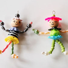DIY Bead People - mypapercrane.com