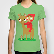 deer rider tshirt