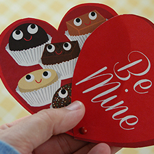 Print &amp; Cut Valentine - mypapercrane.com