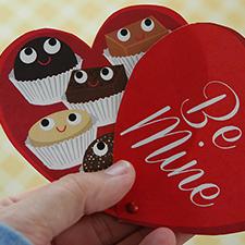 Print & Cut Valentine - mypapercrane.com