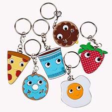 enamel keychains with Kidrobot - mypapercrane.com