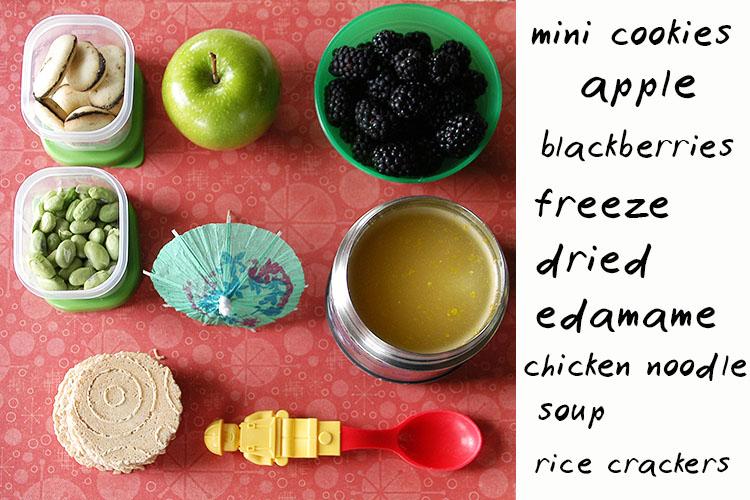 Healthy School Lunch Tray