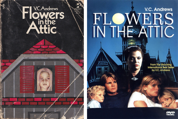 Vc Andrews Book Cover Art ~ Flowers in the attic my paper crane