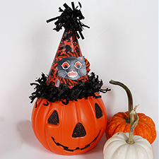 DIY Vintage Inspired Halloween Party Hat